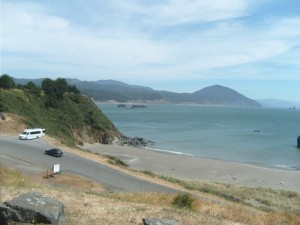 View from Gold Beach