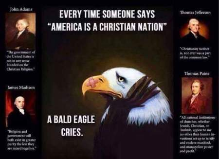 christian nation eagle cries