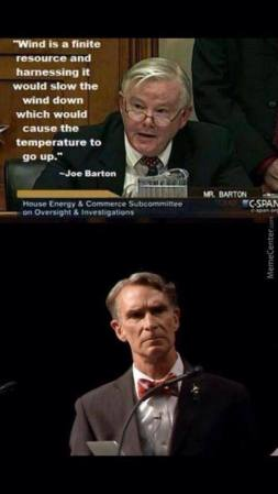 Joe Barton Dumb Repub