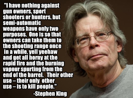 stephen king on semi auto rifles
