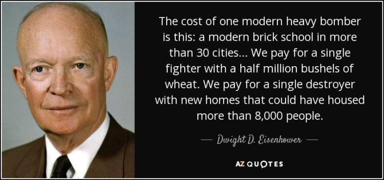 Eisenhower on defense spending