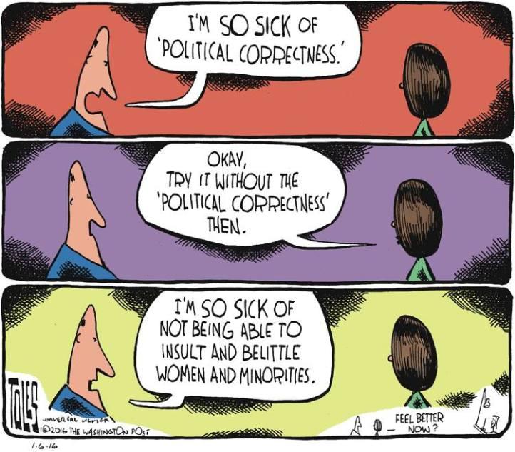 On political correctness