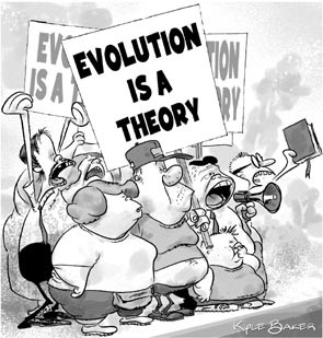 evolution-is-a-theory