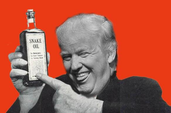 snake oil trump