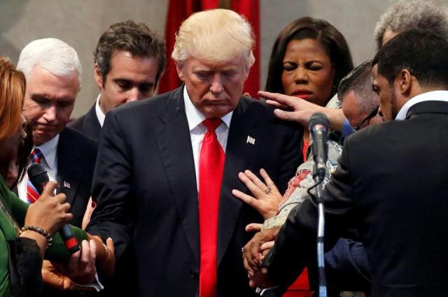 The Lord Trump Pence and a gaggle