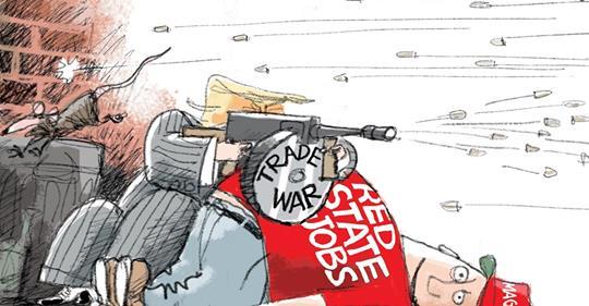 trade war collateral