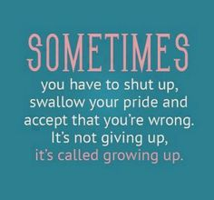 Just Grow Up