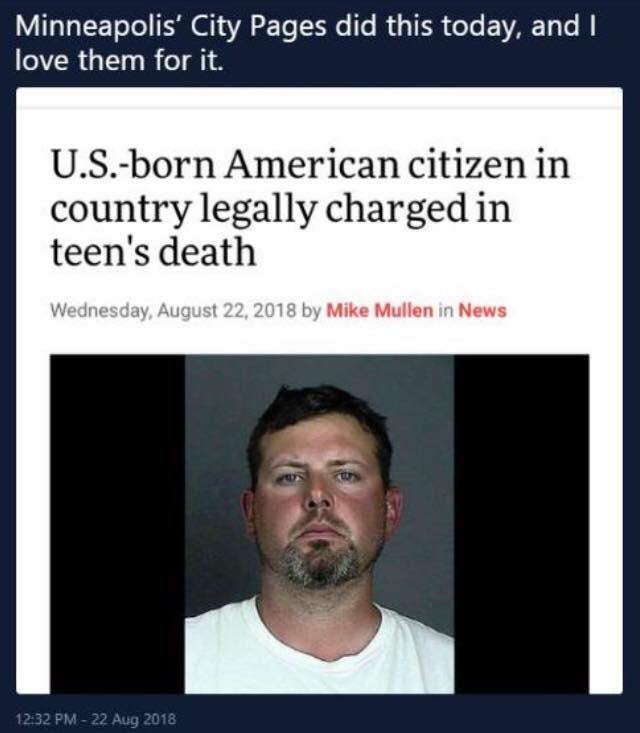 Racist reversed