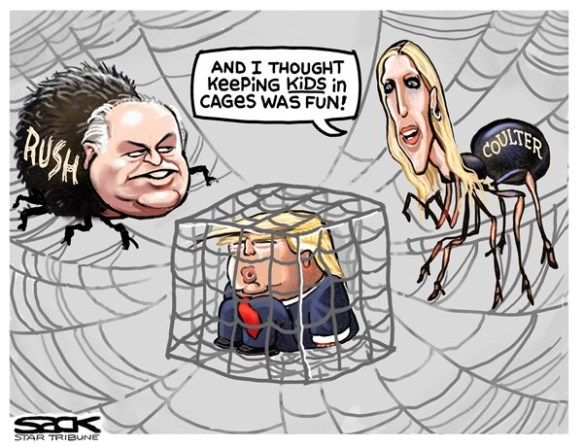 sack 12219 trump rush coulter
