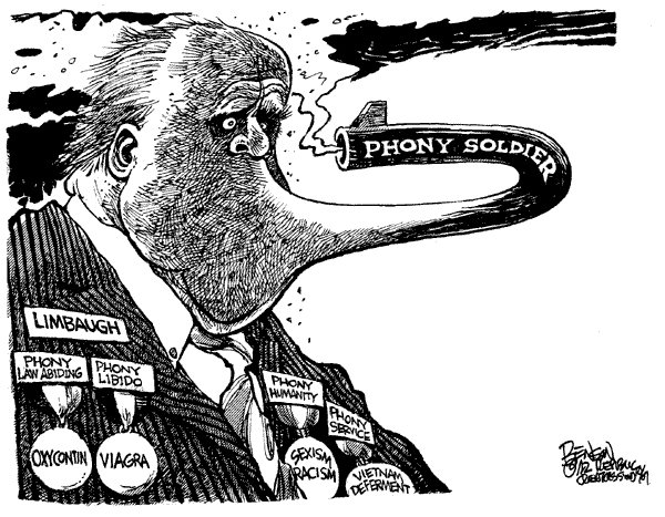 Limbaugh phony soldier