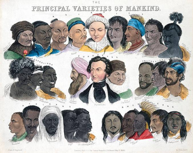 The principle varieties of mankind
